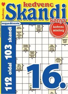 CSOSCH KIADÓ - Kedvenc Skandi Könyv 16.