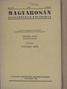 Balassa József - Magyarosan 1940. január-december [antikvár]