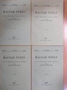 Balázs János - Magyar Nyelv 1967/1-4. [antikvár]