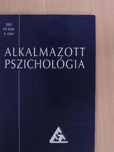 Balogh László - Alkalmazott pszichológia 2005/4. [antikvár]
