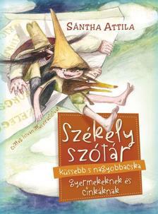 Sántha Attila - Székely szótár küssebb s nagyobbacska gyermekeknek és cinkáknak