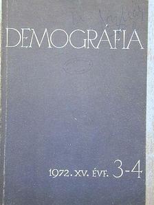 A. Sauvy - Demográfia 1972/3-4. [antikvár]