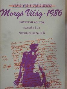 Balázs István - Mozgó Világ 1986. április [antikvár]