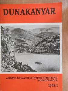 Csiga Zsolt - Dunakanyar 1992/1. [antikvár]
