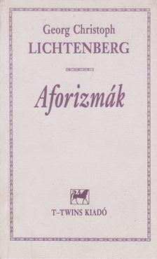 Lichtenberg, Georg Christoph - Aforizmák [antikvár]