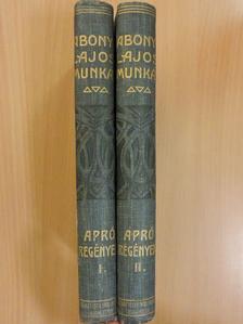 Abonyi Lajos - Apró regények I-II. [antikvár]