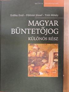 Erdősy Emil - Magyar büntetőjog [antikvár]