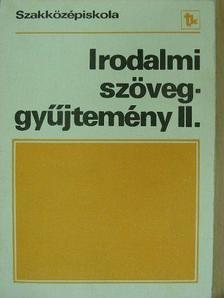 Arany János - Irodalmi szöveggyűjtemény II. [antikvár]