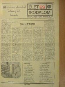 Bokor Péter - Élet és Irodalom 1986. (nem teljes évfolyam) [antikvár]