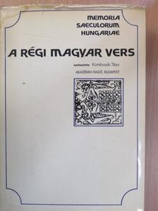 Balassi Bálint - A régi magyar vers [antikvár]