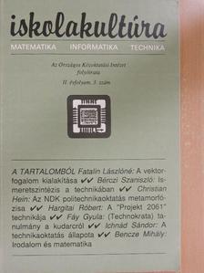 Bencze Mihály - Iskolakultúra 1992/3. [antikvár]