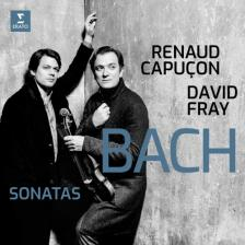 Bach - BACH SONATAS CD CAPUCON, DAVID FRAY
