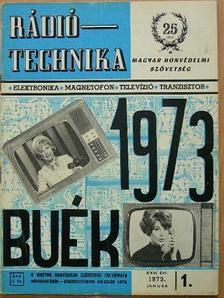 Lóska Péter - Rádiótechnika 1973. (nem teljes évfolyam) [antikvár]