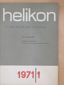Kiss József - Helikon 1971/1. [antikvár]
