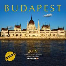 SmartCalendart Kft - Naptár 2019 Budapest prémium 30x30 cm