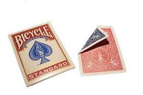 1013467 - Bicycle Magic Double Back Piros/Kék kártya