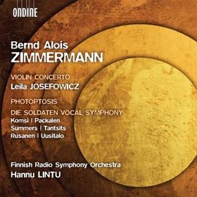 ZIMMERMANN - VIOLIN CONCERTO CD JOSEFOWICZ & LINTU