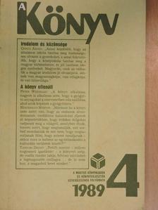 Abody Béla - A Könyv 1989/4. [antikvár]