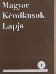 Andrásfay Ernő - Magyar Kémikusok Lapja 1961. január-december [antikvár]