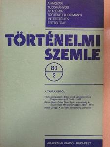 Balázs Ilona - Történelmi Szemle 1983/2. [antikvár]
