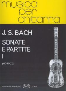 J. S. Bach - SONATE E PARTITE I GITÁRRA (MOSÓCZI MIKLÓS)