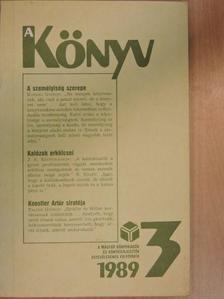 Bencsik Gábor - A Könyv 1989/3. [antikvár]