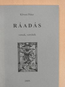 Kövesi Péter - Ráadás (dedikált példány) [antikvár]