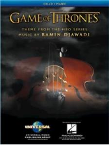 DJAWADI, RAMIN - GAME OF THRONES. THEME FORM THE HBO SERIES FOR CELLO / PIANO
