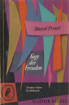 Marcel Proust - Tage der Freuden [antikvár]