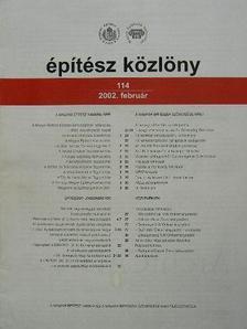 Építész közlöny 1997-2005 (vegyes számok, 43 db) [antikvár]