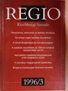 Bíró Gáspár - Regio 1996/3. [antikvár]