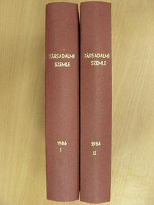 Ábrahám Kálmán - Társadalmi Szemle 1986. január-december I-II. [antikvár]
