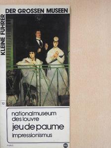 Héléne Adhemar - Nationalmuseum des Louvre Jeu de Paume impressionismus [antikvár]