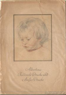 Albertina Facsimiledrucke und Amslerdrucke [antikvár]