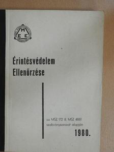 Baji László - Érintésvédelem ellenőrzése [antikvár]