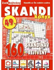 CSOSCH KIADÓ - ZsebRejtvény SKANDI Könyv 49.