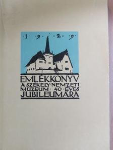 Andriesescu - Emlékkönyv a Székely Nemzeti Múzeum ötvenéves jubileumára 1929 I. [antikvár]