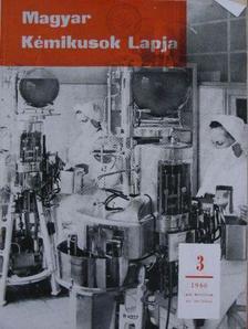 Ács Miklós - Magyar Kémikusok Lapja 1966. január-december [antikvár]