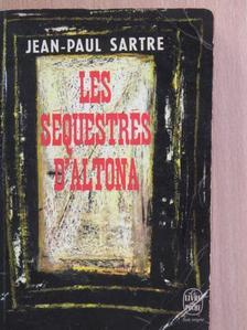 Jean-Paul Sartre - Les Séquestrés d'Altona [antikvár]