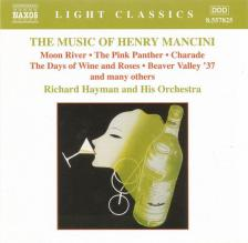 MANCINI, HENRY - THE MUSIC OF HENRY MANCINI CD RICHARD HAYMAN AND HIS ORCHESTRA
