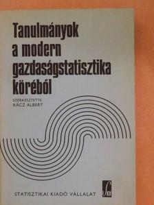 Árvay János - Tanulmányok a modern gazdaságstatisztika köréből [antikvár]