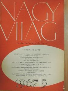 Aldo Nicolaj - Nagyvilág 1967. május [antikvár]