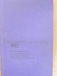 Horányi Károly - Irodalomtudomány 1999/2. [antikvár]