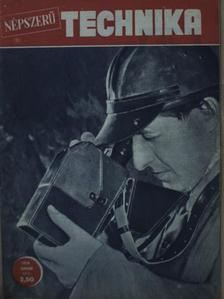 Endrei Walter - Népszerű Technika 1958. (nem teljes évfolyam) [antikvár]