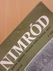 Fekete István - Nimród 1969., 1970., 1972., 1974., 1978., 1982., 1985., 1993. (vegyes számok) (15 db) [antikvár]