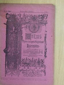 Angehrn Tivadar S. J. - Jézus Szentséges Szivének Hirnöke 1918. szeptember-október [antikvár]