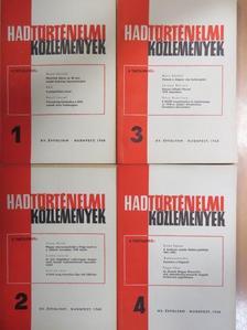 Bende Lajos - Hadtörténelmi Közlemények 1968/1-4. [antikvár]