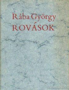 Rába György - Rovások [antikvár]