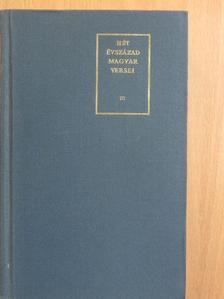 Berda József - Hét évszázad magyar versei III. (töredék) [antikvár]