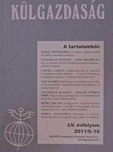 Antalóczy Katalin - Külgazdaság 2011/9-10 [antikvár]